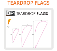 Big Picture Imaging - Teardrop Flags