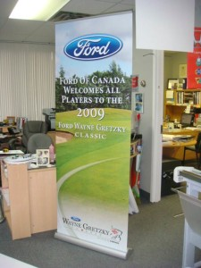 Ford banner Stand